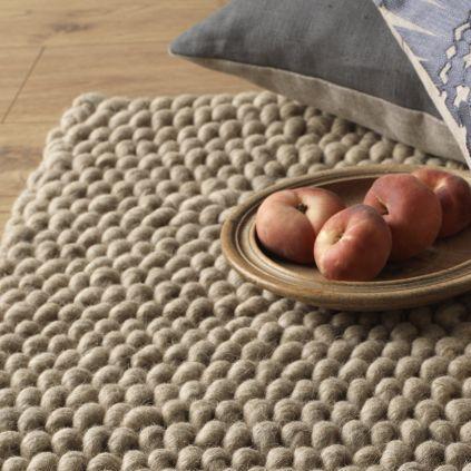 Natuurlijk wollen tapijt